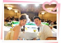 笑顔あふれる暖かな結婚式に♪